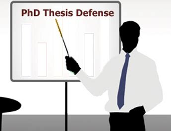 Defending a doctoral dissertation summary